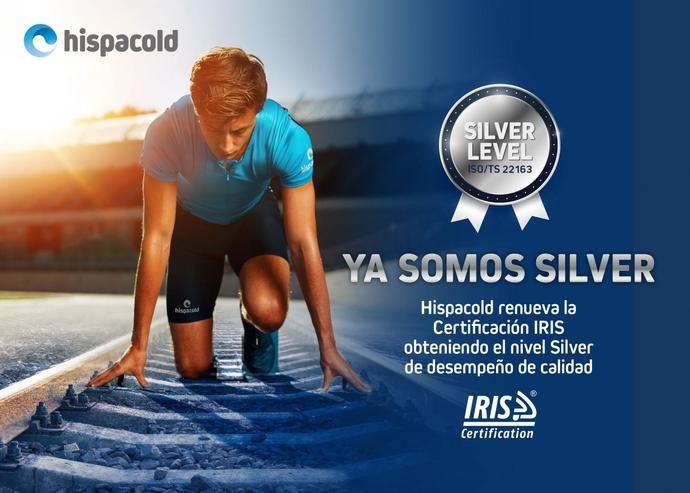 Hispacold renueva la certificación IRIS,ascendiendo al nivel Silver de calidad