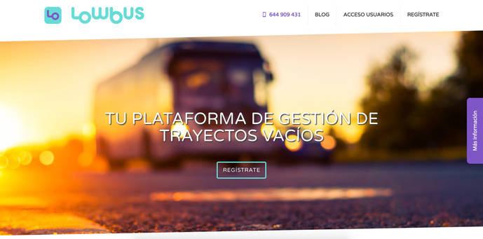 Lowbus, plataforma de colaboración entre compañías de autocares creada en España