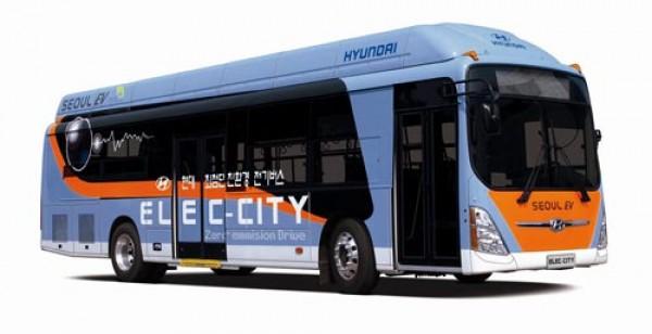 Hyundai planea entrar en el mercado de autobuses eléctricos