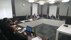 Reunión de la Mesa de Transporte de Madrid Foro Empresarial