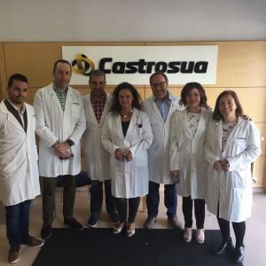 La visita de Markea a Castrosua