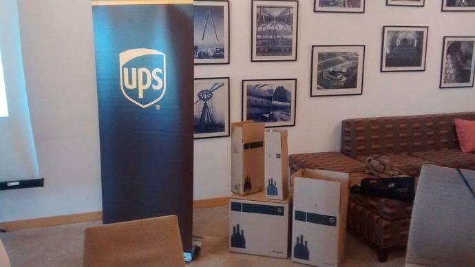 UPS provee de paquetería específica para sus envíos a la industria del vino