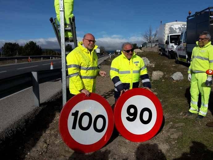 Entra en vigor el límite de 90 kilómetros por hora en carreteras convencionales