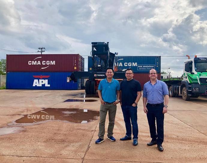 Ceva y CMA CGM crean solución única para contenedores marítimos