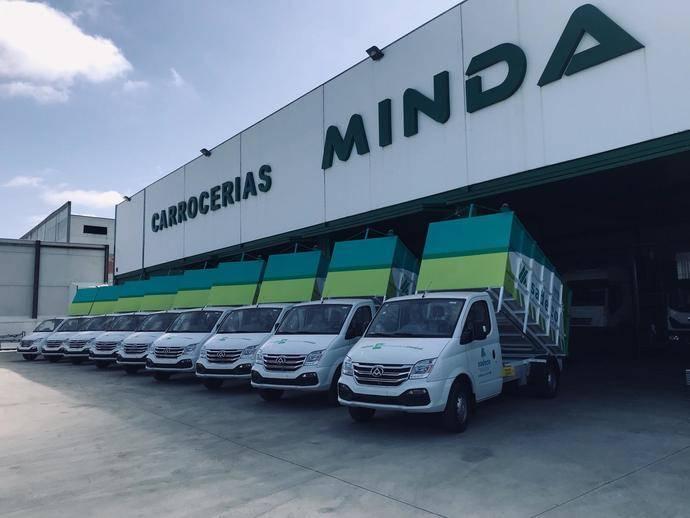 10 vehículos Maxus EV80 100% eléctricos para los residuos en Córdoba
