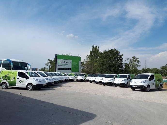 CityLogin amplía su flota 100% eléctrica para reparto en el centro de ciudades