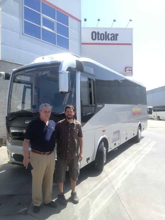Otokar proporciona un Navigo TH de 8,4 metros a Autocares Rovira