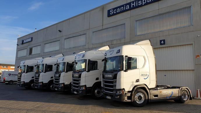 ROR OL incorpora seis Scania a su flota, de más 60 Scania