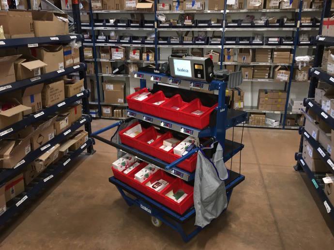FM Logistic crea solución innovadora para la preparación de pedidos online