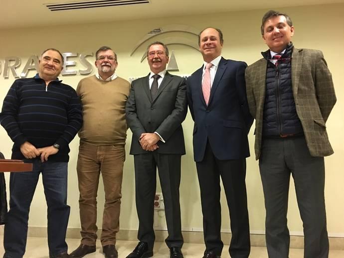 Fandabus y las organizaciones sindicales UGT y CC.OO. firman el convenio colectivo del sector de transportes de la provincia de Sevilla
