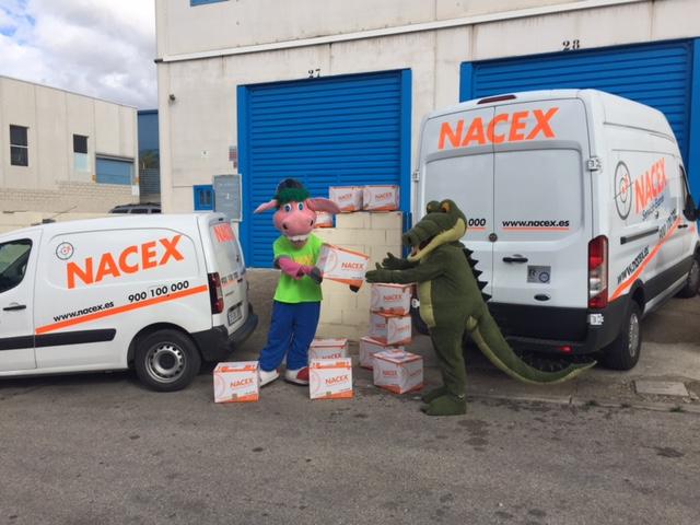 Nacex decide participar en distintas campañas solidarias