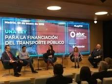 El transporte público propone la nueva Ley de Financiación a los partidos