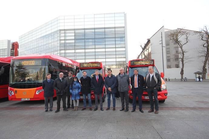El Servicio de Movilidad y Transportes de Burgos presenta dos minibuses In-urban de Integralia