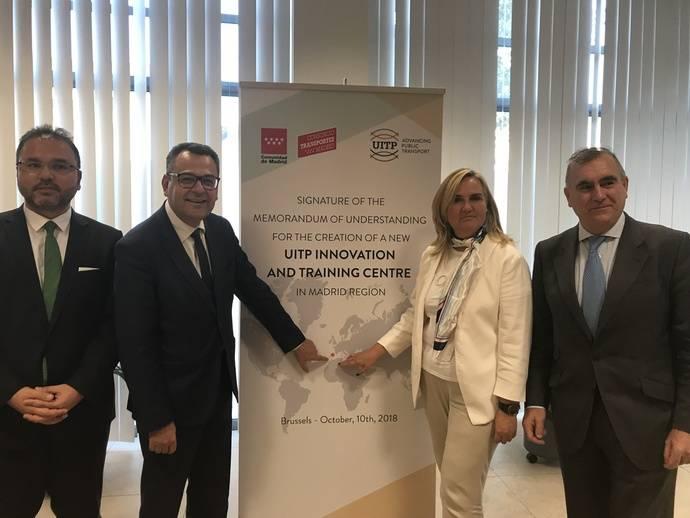Madrid acogerá primer Centro de Innovación y Formación UITP en España