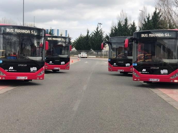 La compañía de autobuses 'Bus Miranda' apuesta por Otokar