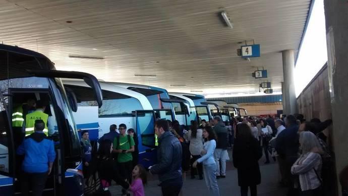 Huelga en el transporte de viajeros de Madrid desde el 3 de mayo