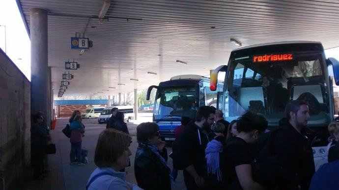 Recomendación de Bruselas a España para invertir en estaciones de autobuses