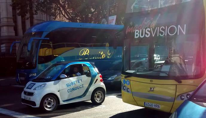 Car2go invade Madrid