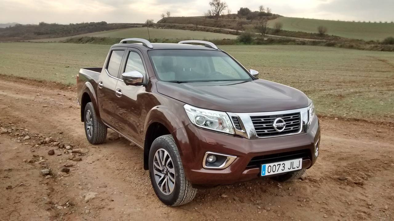 Nissan Pick-Up Navara, made in Spain, consideración de turismo
