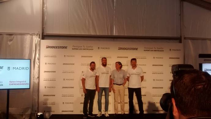 Bridgestone y Sergio Rodríguez buscan ayudar a cumplir sueños