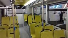 El interior del Urbino 12 eléctrico.