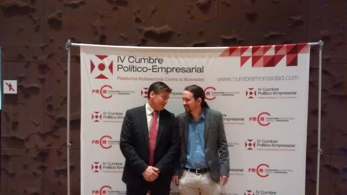 Rivera e Iglesias se comprometen con el régimen sancionador a la morosidad