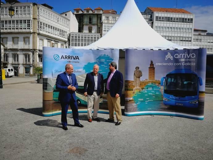 Arriva consolida su estrategia en Galicia en torno a la generación de empleo de calidad
