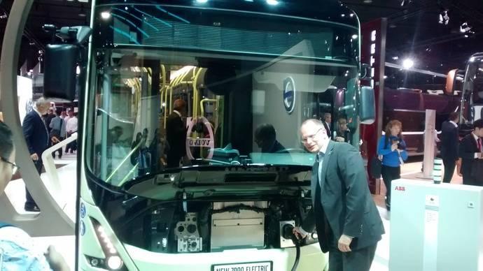 El nuevo Volvo 7900 Eléctrico ofrece mejor rango y mayor flexibilidad operacional