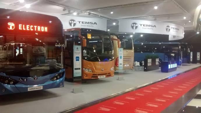Temsa presenta dos nuevos autobuses para el mercado europeo