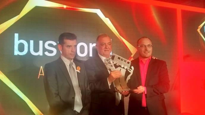 El Irizar i8 consigue obtener el premio al Coach of the Year 2018