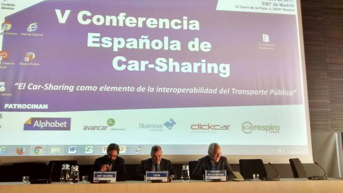 Se celebra la V Conferencia española de Car-Sharing, en sede de EMT de Madrid
