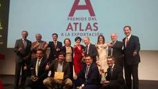 Galardonados y miembros del jurado de la edición de 2017 de los premios DHL Atlas.