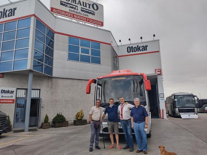 Agarbus sigue apostando por los autobuses de la marca Otokar