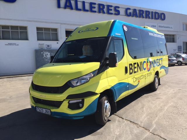 Autocares Grupo Benidorm incorpora a su flota cuatro unidades Iveco