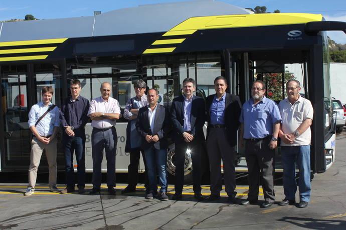 AMB y Tusgsal comienzan pruebas con un Solaris 100% eléctrico