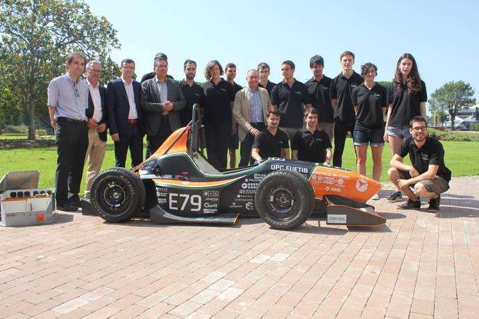 AMB apoya el desarrollo de un coche eléctrico de competición