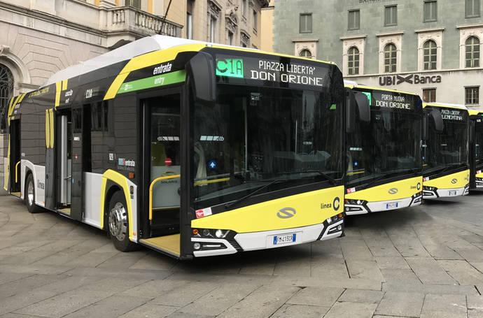 Presentación de los nuevos Solaris de Bérgamo.
