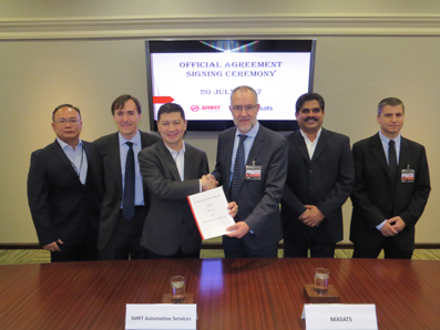 Masats firma un acuerdo de servicios con SMRT