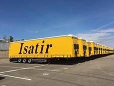 Isatir incorpora a su flota 20 semirremolques Lecitrailer