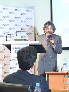 El subdirector general de Ordenación y Normativa del Ministerio de Fomento, Emilio Sidera Leal.