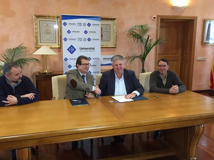 IB y la FEBT han firmado hoy un acuerdo de colaboración