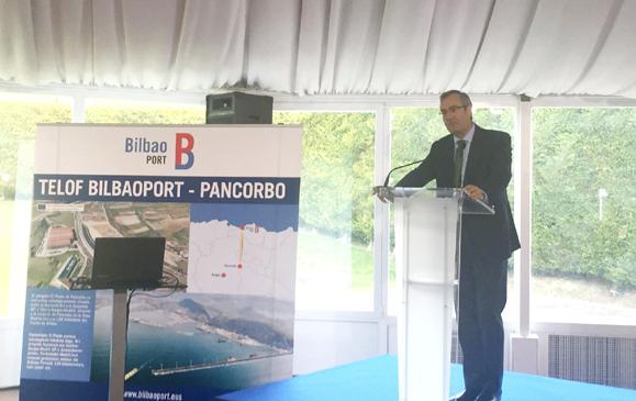 La Terminal Ferroportuaria de Pancorbo impulsará la actividad del Puerto de Bilbao