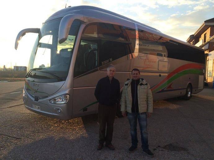 Nuevo Volvo B11R para Empresa Vaquero SA