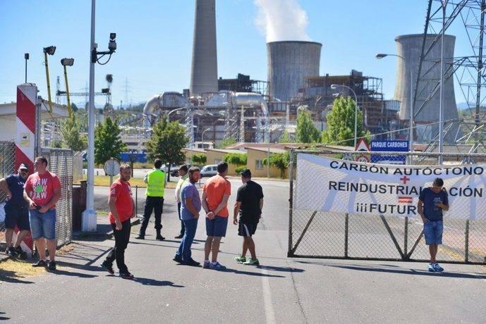 Los transportistas de carbón, inquietos por el impacto del cierre de las plantas térmicas