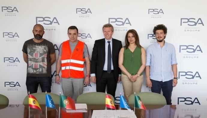 El Grupo PSA reafirma con las Organizaciones Sindicales de la Península Ibérica
