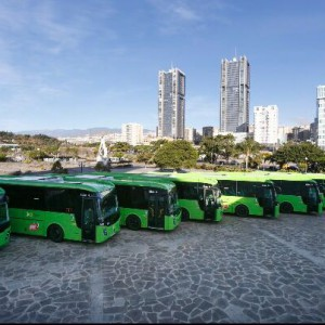 Grupo Castrosua entrega 37 nuevos autobuses a Titsa