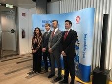 Matilde Marín, Renaud van der Haegen, Carlos Giner y Jorge Gallego.