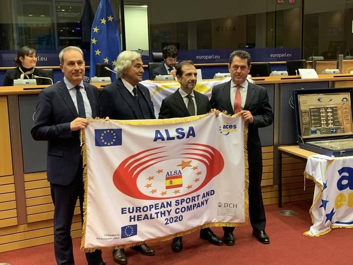 Alsa recibe el premio European Sport and Healthy Company