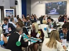 Algunas de las reuniones de 'quality networking' organizada por Puerto de Barcelona