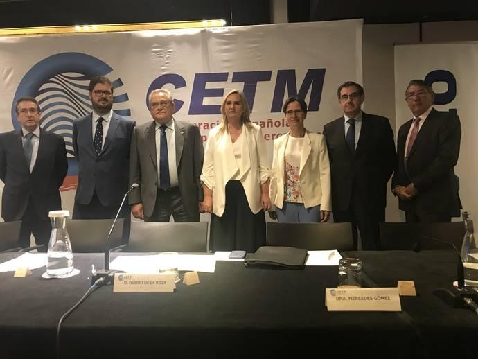 Rosalía Gonzalo clausura la Asamblea General de la Confederación Española de Transporte de Mercancías (CETM).